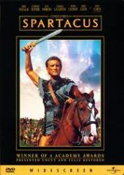 Capa do filme Spartacus de Stanley Kubrick